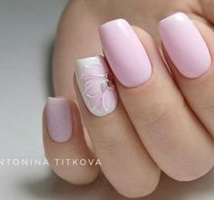 Semi-permanent varnish, false nails, patches: which manicure to choose? - My Nails Nail Art Designs Videos, Fingernail Designs, Perfect Nails, Gorgeous Nails, Cute Acrylic Nails, Cute Nails, Pink Nails, My Nails, Bridal Nails