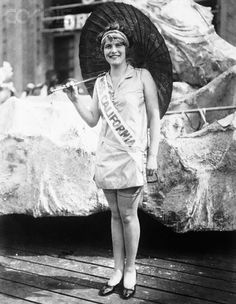 Miss America of 1925  Original caption:California Girl Wins Miss America Title. Atlantic City, New Jersey: Miss Fay Lanphier, blonde beauty from California who was crowned Miss America at the close of the 1925 Atlantic City beauty pageant. Miss Lanphier was chosen by the judges after great deliberation and was given a great ovation by the thousands who attended the final judging.