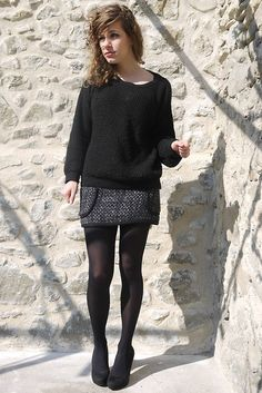 Chanel like cheap pull and bear skirt !  On my blog !