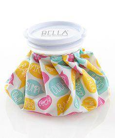 Love this 'Ouch! Bump!' Ice Bag by Bella Beauty on #zulily! #zulilyfinds