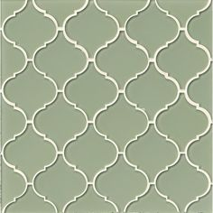 Found it at Wayfair - Mallorca Glass Mosaic Tile in Fern