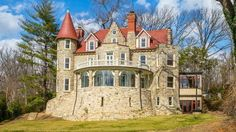 Baltzley Castle had fallen into ruin, but a local developer bought it in 2011 and completely renovated it. It's now back on the market for $3.9 million.