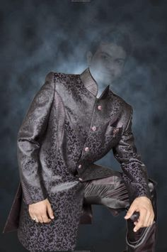 Man Pose In Sherwani Dress Psd File - Lucky Studio 4U