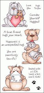 Inky Antics: Sunday Stamping With Kerri Michaud: Puppy Love