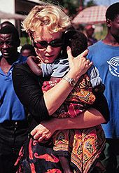 Mama Heidi, amazing documentary about this women and her orphan mission.   http://www.irismin.org/about