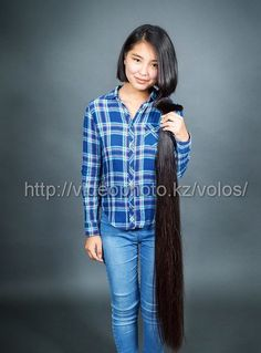 Kazakh hair donations | hairykrishna211 | Flickr Long Hair Ponytail, Ponytail Hairstyles, Cool Hairstyles, Very Long Hair, Long Hair Cuts, Rapunzel Hair, Her Hair, Short Hair Styles, Hair Beauty