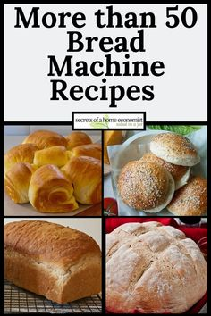 Check out this collection of 56 mouth-watering bread machine recipes you can mix up in your bread machine or bread maker. Most are easy. A few are advanced. Bread Machine Recipes Healthy, Bread Maker Recipes, Jam Recipes, Cooking Recipes, Bread Machine Mixes, Bread Machine Rolls, Best Bread Machine, Cuisinart Bread Recipe, Recipes