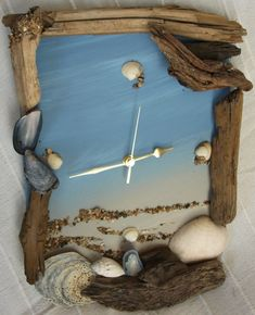 diy clock ideas | 40 Diy Driftwood inspiration ideas | My desired home