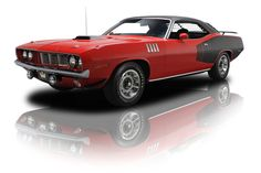 1971 Plymouth 'Cuda Red