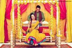 Beautiful Paksitani couple before their Mehndi night!