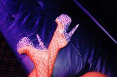 Only Stripper Shoes Stripper Heels, Photo Colour, Color, Women Legs, Mules Shoes, Satan, Clubwear, Luxury Lifestyle, Barbie Dolls