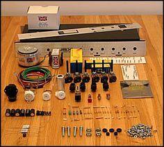Amp Maker: Guitar amp kits and parts :: Guitar amp kits :: N5X 5W British overdrive amplifier