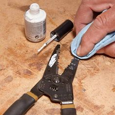 Easy-to-Read Markings - Stamped-in tool markings can be tough to read. To solve this, buy some white fingernail polish, brush it on the tool and quickly wipe it with a clean cloth. The white polish stays in the grooves, and the numbers are easy to read at a glance. You can use lacquer thinner to wipe it if the polish dries too quickly.