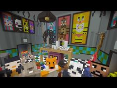 Minecraft Xbox Hide And Seek Fnaf The Office Youtube