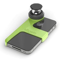 Dot Panorama Phone Lens Green now featured on Fab.