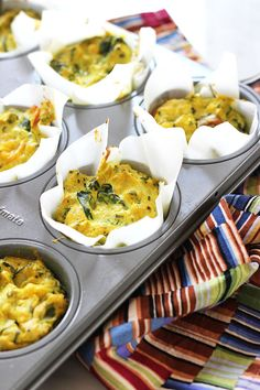 Mini Vegan Frittatas | Dietitian Debbie Dishes from @dietitiandebbie