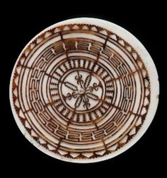 "suchasensualdestroyer: "" Solomon Islands, Kap Kap, tortoiseshell/fossilized tridacna clam shell, c. Island Tattoo, Cafe Concept, Solomon Islands, South Pacific, Tribal Art, Tortoise Shell, Doodle Art, Sea Shells, Body Art"
