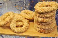 Sesame Bread Rings-Koulouria — Greek Cooking Made Easy Bread Shaping, Large Oven, Greek Cooking, Multigrain, Beet Salad, Onion Rings, Greek Recipes, Allrecipes, Food Inspiration