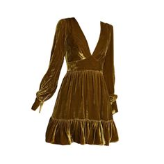 Beautiful Outfits, Cool Outfits, Fashion Outfits, Beautiful Clothes, Dress Png, Vintage Outfits, Vintage Fashion, Yellow Fashion, Handmade Clothes