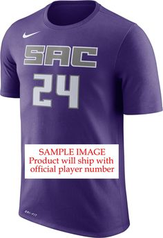 48fe6d8cf Nike Men s Sacramento Kings Marvin Bagley III  35 Dri-FIT Purple T-Shirt