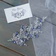 Хрустальная веточка с кристаллами - купить или заказать в интернет-магазине на Ярмарке Мастеров - FOE43RU. Псков | Воздушная веточка с хрустальными бриолетами и…