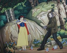 17 Creepy Disney Mashups You'll Never Be Able To Unsee