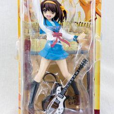 Suzumiya Haruhi no Yuutsu w/ Guitar Premium Figure SEGA JAPAN ANIME MANGA
