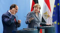 Frau Merkel ist eine wahrhafte lupenreine Postdemokratin (Stichwort: Menschenrechte) Jubel-Bilder für die HeimatfrontMerkel bot al-Sisi eine Propaganda-Bühne  Ein Kommentar von Sofian Philip Naceur  In Ägypten bröckelt die Zustimmung für den autokratischen Präsidenten al-Sisi, er braucht dringend internationalen Rückhalt. Die liefert ihm Bundeskanzlerin Merkel - und viele schöne Bilder noch dazu. .... Merkel und Al-Sisi im Kanzleramt.
