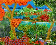 Image detail for -Indigo Arts Gallery South American Art, Tropical Art, Recipe Cards, Naive, Art Gallery, Culture, Drawings, Artwork, Poetry