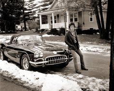 Bruce with Corvette