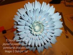 Gerbera Daisy made from cardstock