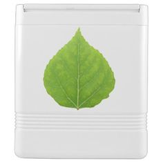Green Aspen Leaf #11 Drink Cooler - spring gifts beautiful diy spring time new year