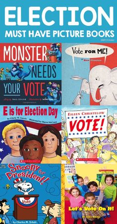 Election Books for Kindergarten - Simply Kinder Preschool Books, Kindergarten Activities, Preschool Themes, Preschool Learning, Social Studies Classroom, Classroom Resources, Teaching Activities, Teaching Ideas, Thanksgiving Projects