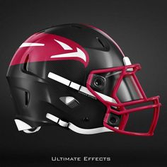 Check Out The Awesome Redesigned NFL Helmets of All 32 Teams - Jetlaggin Cool Football Helmets, Football Helmet Design, Football Gear, College Football, Falcons Football, Nfl Football Players, 32 Nfl Teams, Oakland Raiders Logo, Football Uniforms