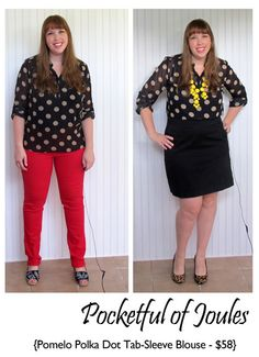I am in SERIOUS need of a big polka dot top.. I've got lots of tiny dot tops, but I need some statement polkas!
