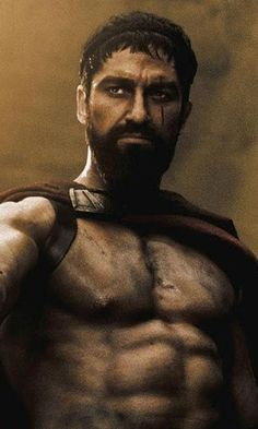 "King Leonidas, from ""300""."