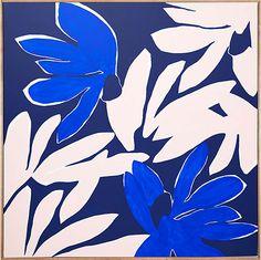Mesozoic Garden acrylic on linen 90 x 90cm