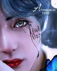 Taehyung Fanart, Kim Taehyung Funny, Jungkook Fanart, Jungkook Cute, Foto Jungkook, Kpop Fanart, Drama Eng Sub, Baby Blue Aesthetic, Taehyung Photoshoot