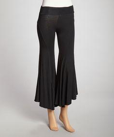 Black Om Pants | Luna Claire