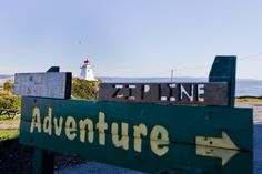 This way to adventure at Cape Enrage // Bay of Fundy, New Brunswick Canada New Brunswick Canada, East Coast Travel, Canada Holiday, Atlantic Canada, Zip Lining, Newfoundland And Labrador, Whale Watching, The Province, Nova Scotia