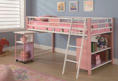 Full Size Loft Bed With Desk Underneath - Foter