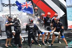 Kiwis win the 35th America's Cup