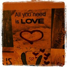 All you need is... :)