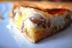 Torta salata di funghi e patate