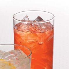 Raspberry Ice Tea  Ingredients  •4 quarts water  •1-1/2 cups sugar  •1 package (12 ounces) frozen unsweetened raspberries  •10 individual tea bags  •1/4 cup lemon juice