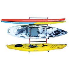 Malone 2 Kayak + 2+ SUP FS Storage Rack   Outdoorplay.com