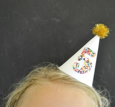 Sprinkled Mini Party Hats... - Jacks and Kate
