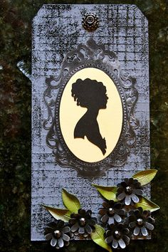 Trendy Tuesday – Portrait Silhouettes :: Paper Crafter's Library