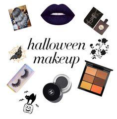 """halloween"" by ramonacy on Polyvore featuring MAC Cosmetics, Featherella e Yves Saint Laurent"