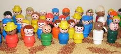 Fisher Price Little People. What memories. 90s Childhood, Childhood Friends, My Childhood Memories, Sweet Memories, Fisher Price Toys, Vintage Fisher Price, Retro Toys, Vintage Toys, 80s Kids